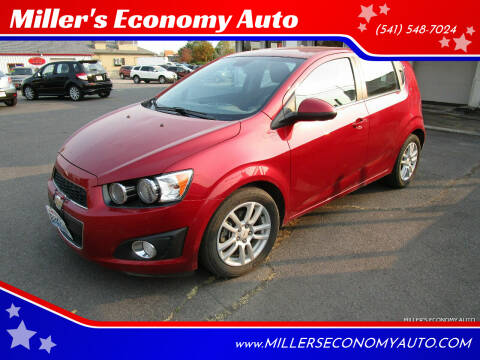 2012 Chevrolet Sonic for sale at Miller's Economy Auto in Redmond OR
