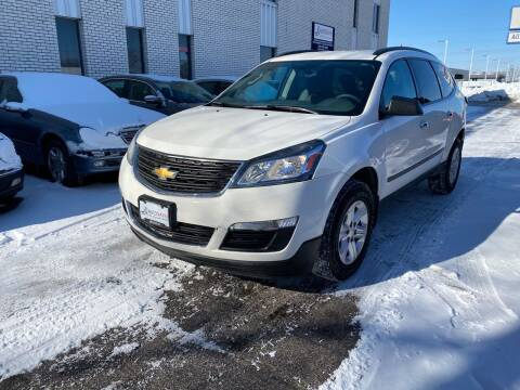 2014 Chevrolet Traverse for sale at AUTOSAVIN in Elmhurst IL