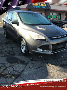 2013 Ford Escape for sale at 2 Way Auto Sales in Spokane Valley WA