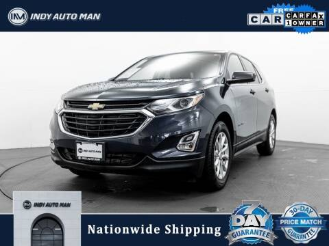2019 Chevrolet Equinox for sale at INDY AUTO MAN in Indianapolis IN