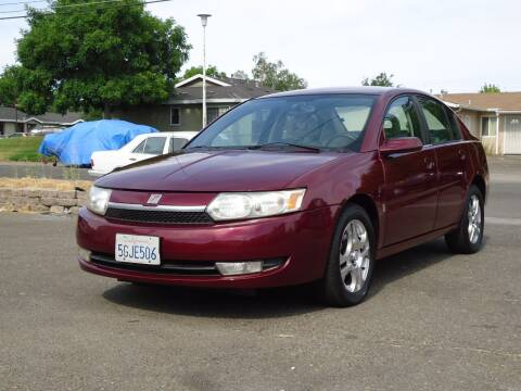 2004 Saturn Ion for sale at Moon Auto Sales in Sacramento CA