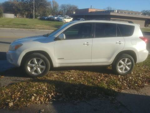 2008 Toyota RAV4 for sale at D & D Auto Sales in Topeka KS