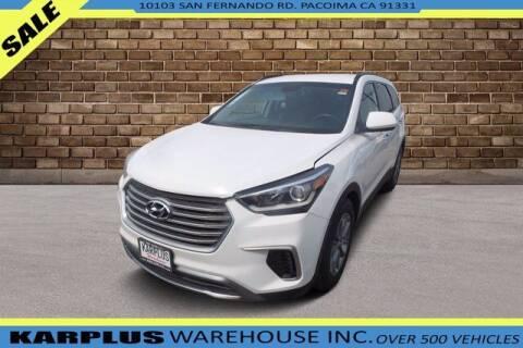 2017 Hyundai Santa Fe for sale at Karplus Warehouse in Pacoima CA