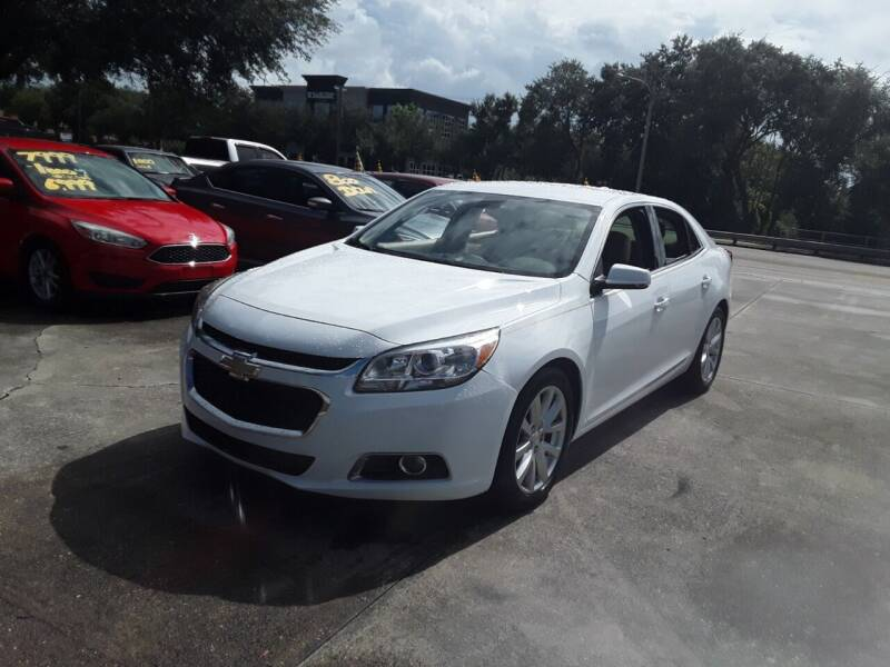 2015 Chevrolet Malibu for sale at FAMILY AUTO BROKERS in Longwood FL