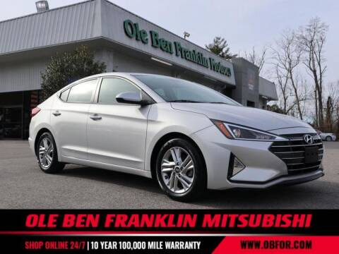 2020 Hyundai Elantra for sale at Ole Ben Franklin Mitsbishi in Oak Ridge TN