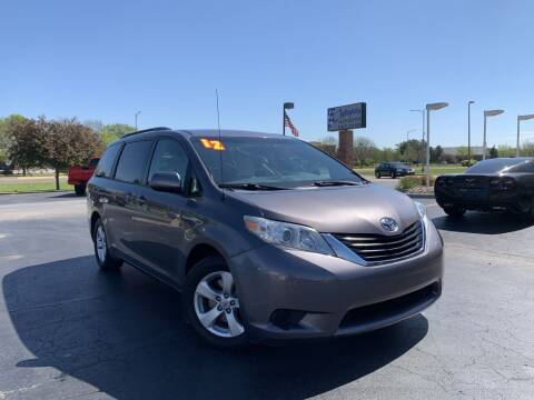 2012 Toyota Sienna for sale at Integrity Auto Center in Paola KS