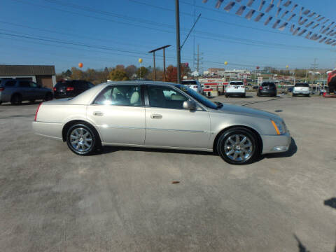 2009 Cadillac DTS for sale at BLACKWELL MOTORS INC in Farmington MO