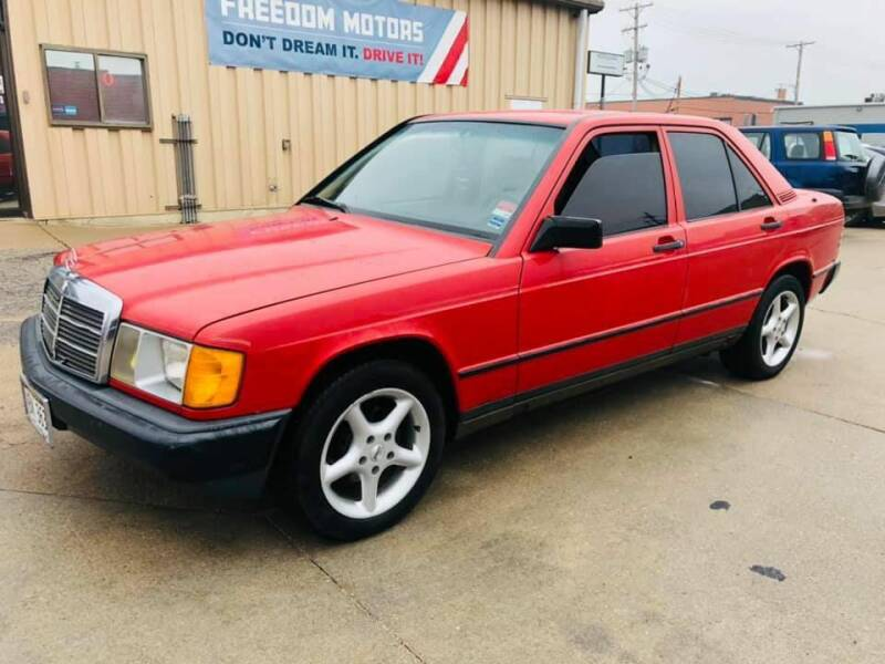 1984 Mercedes-Benz 190-Class for sale at Freedom Motors in Lincoln NE
