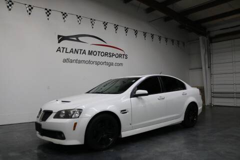 2009 Pontiac G8 for sale at Atlanta Motorsports in Roswell GA