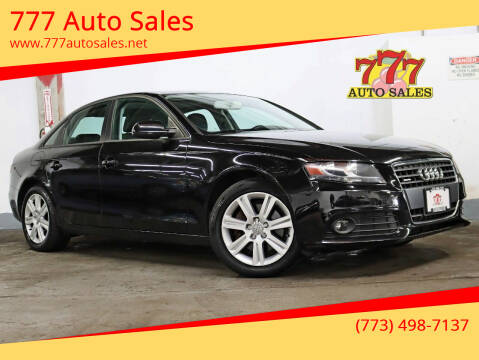 2010 Audi A4 for sale at 777 Auto Sales in Bedford Park IL