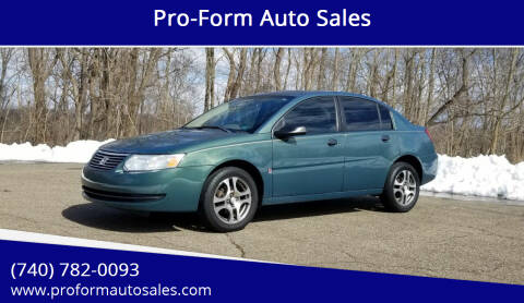 2007 Saturn Ion for sale at Pro-Form Auto Sales in Belmont OH