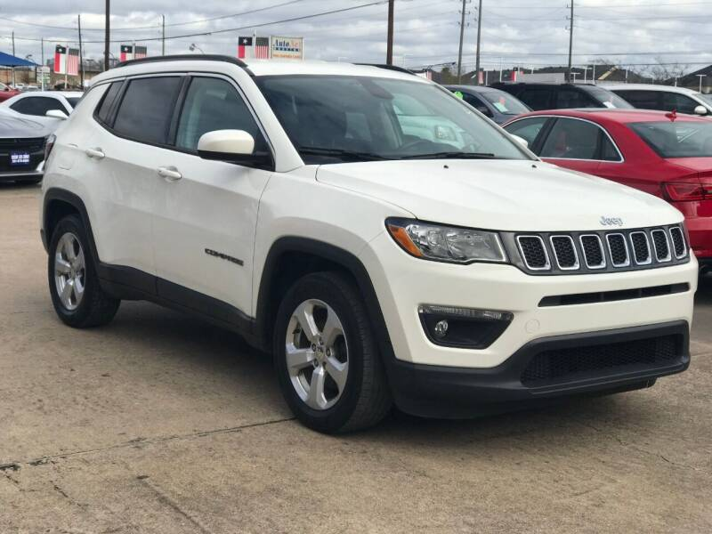 2018 Jeep Compass for sale at Discount Auto Company in Houston TX