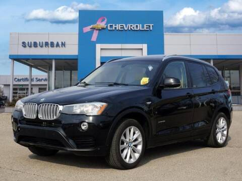 2016 BMW X3 for sale at Suburban Chevrolet of Ann Arbor in Ann Arbor MI