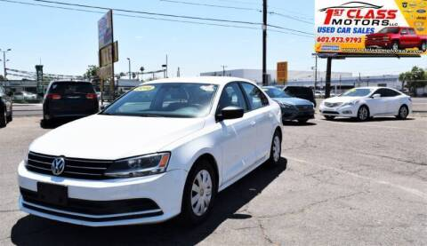 2016 Volkswagen Jetta for sale at 1st Class Motors in Phoenix AZ