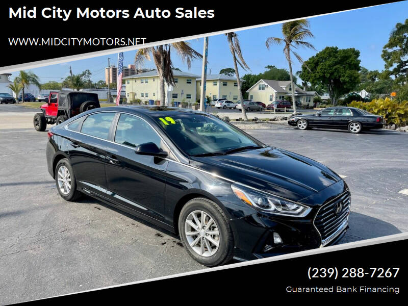 2019 Hyundai Sonata for sale at Mid City Motors Auto Sales in Fort Myers FL