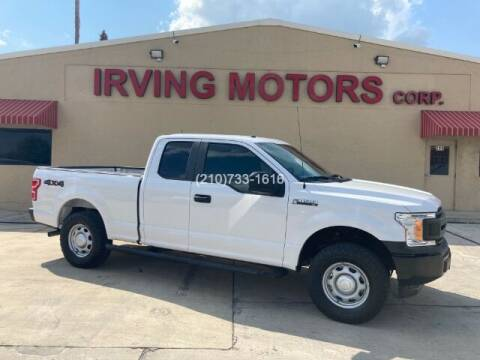 2019 Ford F-150 for sale at Irving Motors Corp in San Antonio TX