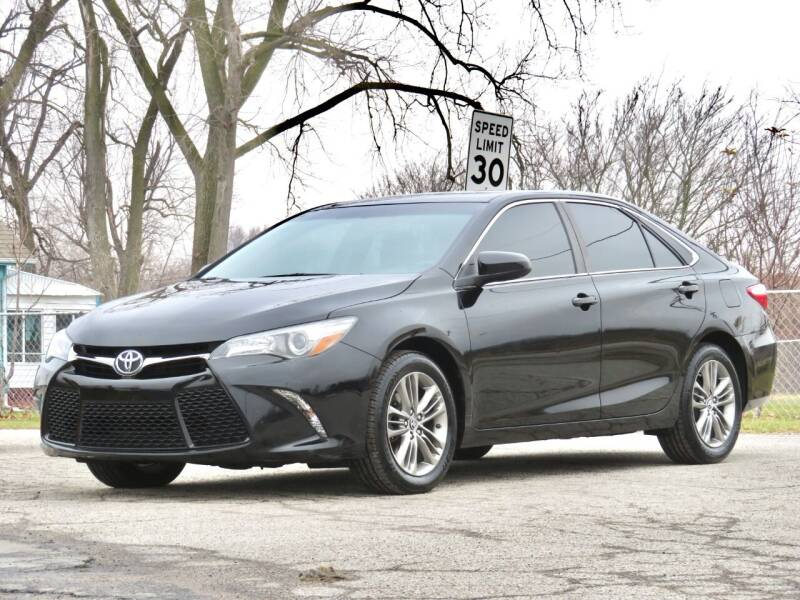 2015 Toyota Camry for sale at Tonys Pre Owned Auto Sales in Kokomo IN