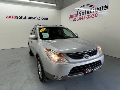2012 Hyundai Veracruz for sale at Auto Solutions in Warr Acres OK