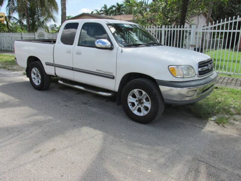 2001 Toyota Tundra for sale at TROPICAL MOTOR CARS INC in Miami FL