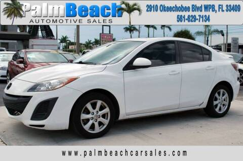 2011 Mazda MAZDA3 for sale at Palm Beach Automotive Sales in West Palm Beach FL