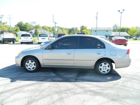 2003 Honda Civic for sale at Auto House Of Fort Wayne in Fort Wayne IN