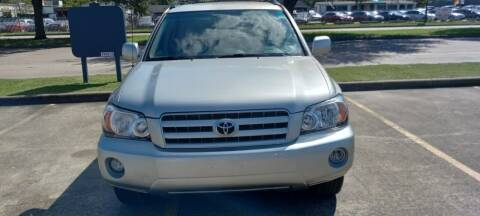 2007 Toyota Highlander for sale at Nation Auto Cars in Houston TX