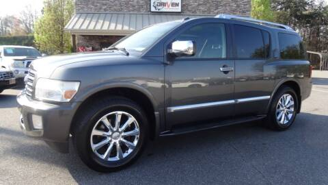 2008 Infiniti QX56 for sale at Driven Pre-Owned in Lenoir NC