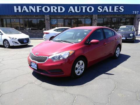 2016 Kia Forte for sale at Hanford Auto Sales in Hanford CA