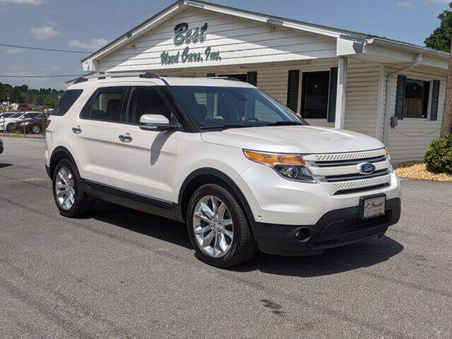 2014 Ford Explorer for sale at Best Used Cars Inc in Mount Olive NC