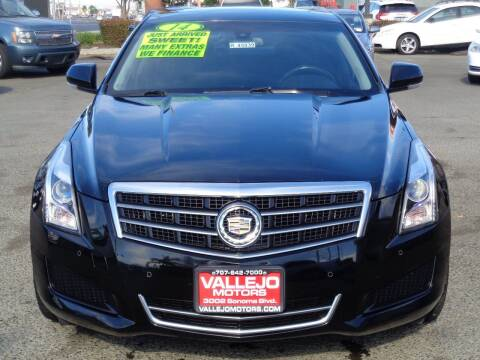 2014 Cadillac ATS for sale at Vallejo Motors in Vallejo CA