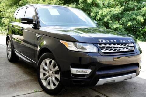 2014 Land Rover Range Rover Sport for sale at CU Carfinders in Norcross GA