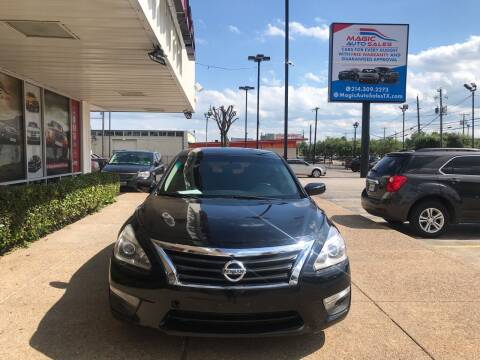 2013 Nissan Altima for sale at Magic Auto Sales - Cash Cars in Dallas TX