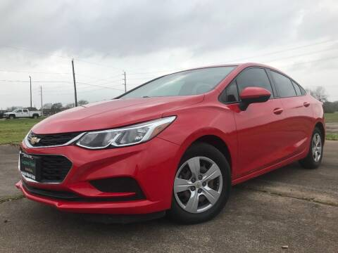 2017 Chevrolet Cruze for sale at Laguna Niguel in Rosenberg TX