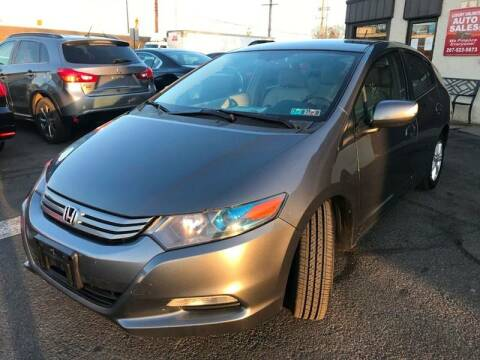 2011 Honda Insight for sale at Luxury Unlimited Auto Sales Inc. in Trevose PA
