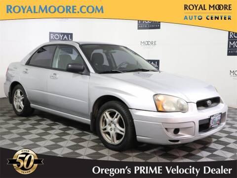 2005 Subaru Impreza for sale at Royal Moore Custom Finance in Hillsboro OR