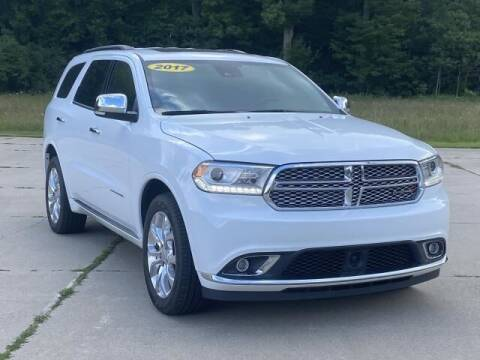 2017 Dodge Durango for sale at Betten Baker Preowned Center in Twin Lake MI