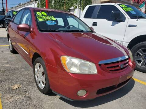 2004 Kia Spectra for sale at USA Auto Brokers in Houston TX