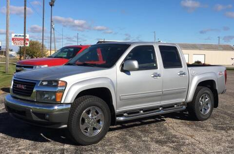 2011 GMC Canyon for sale at RAP Automotive in Goshen IN