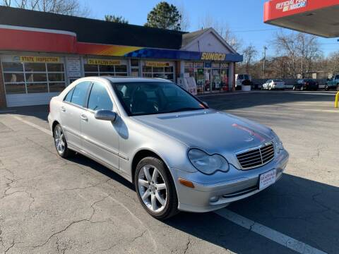 2003 Mercedes-Benz C-Class for sale at Gia Auto Sales in East Wareham MA