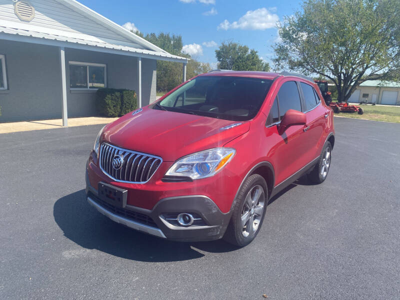2013 Buick Encore for sale at Jacks Auto Sales in Mountain Home AR