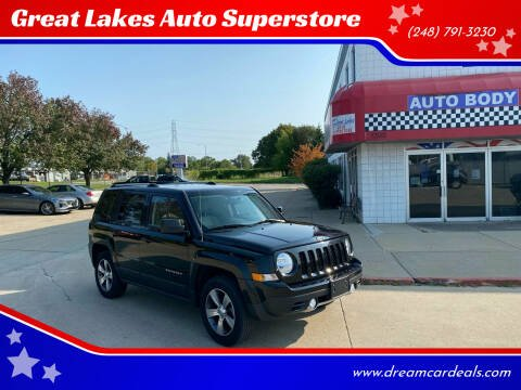 2016 Jeep Patriot for sale at Great Lakes Auto Superstore 2 in Waterford MI