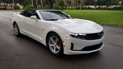 2019 Chevrolet Camaro for sale at DELRAY AUTO MALL in Delray Beach FL