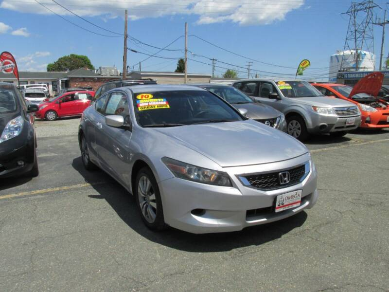 2010 Honda Accord for sale at Omega Auto & Truck Center, Inc. in Salem MA