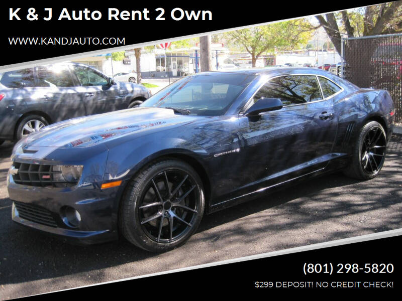 2011 Chevrolet Camaro for sale at K & J Auto Rent 2 Own in Bountiful UT