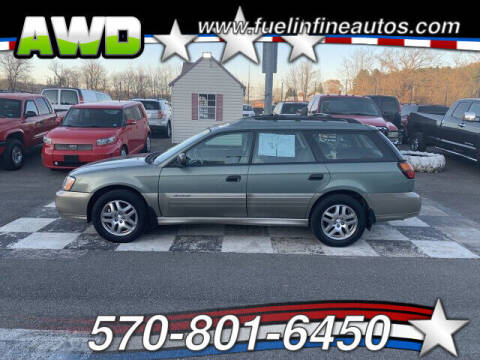 2004 Subaru Outback for sale at FUELIN FINE AUTO SALES INC in Saylorsburg PA
