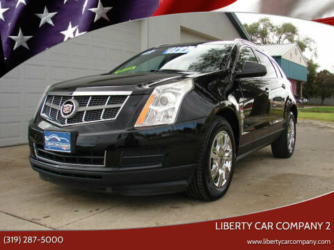 2010 Cadillac SRX for sale at Liberty Car Company - II in Waterloo IA