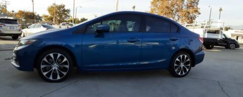 2015 Honda Civic for sale at DOYONDA AUTO SALES in Pomona CA