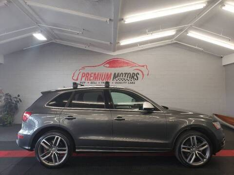 2016 Audi SQ5 for sale at Premium Motors in Villa Park IL