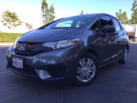 2015 Honda Fit for sale at Tri City Auto Sales in Whittier CA
