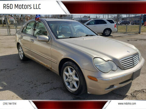 2004 Mercedes-Benz C-Class for sale at R&D Motors LLC in Cleveland OH